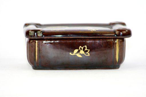Bilden visar Jasba keramik ask skrin – Germany 33 trinket box liggande