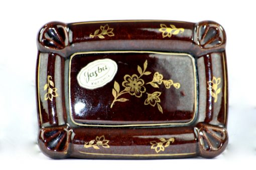 Bilden visar Jasba keramik ask skrin – Germany 33 trinket box framsida
