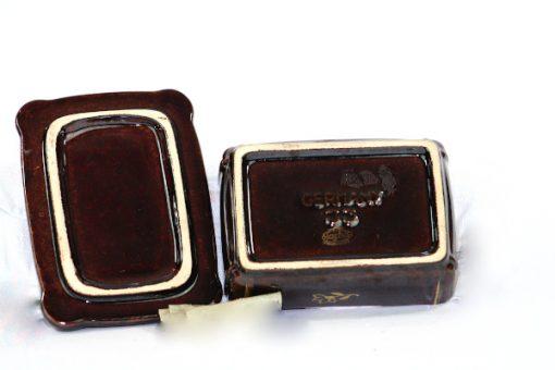 Bilden visar Jasba keramik ask skrin – Germany 33 trinket box undersida