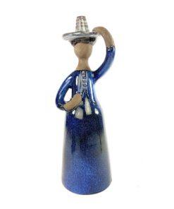 Bilden visar Elsi Bourelius blomsterflicka vas figurin för JIE