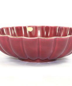 Bilden visar Arthur Percy – Röd Rubin skål 153 / 30 dekor Eugen Trost helhet
