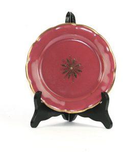 Bilden visar Arthur Percy – Röd Rubin assiett 453 / 23 dekor Eugen Trost