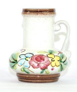 Bilden visar Strehla vas 9021 – Keramik med hänkel blommor pasteller