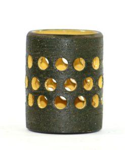 Bilden visar Kjell Blomberg keramiklykta cylinder – Gabriel Keramik helhet