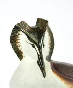 Bilden visar Paul Hoff – Skäggdopping figurin för Gustavsberg detalj