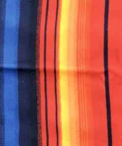 Bilden visar Samisk väggbonad av ull - Tornedalen Torneå färger